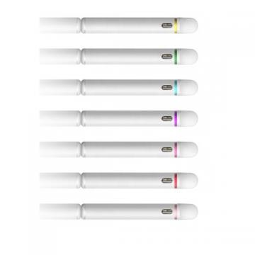 Clear PS tube 0.5ml 1ml vape pen disposable ccell cartridge packaging